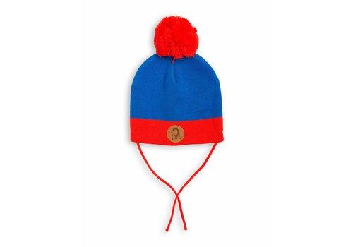 Mini Rodini Block Hat Blue