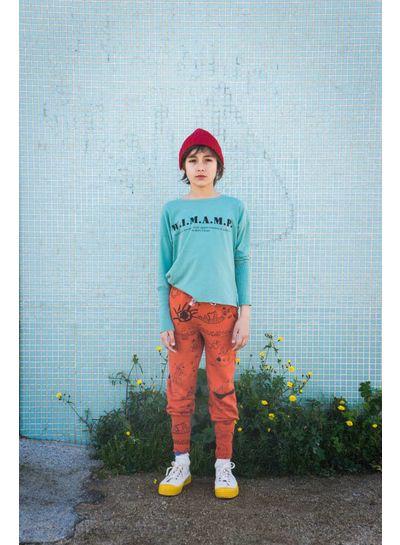 BOBO CHOSES W.I.M.A.M.P. Green T-Shirt