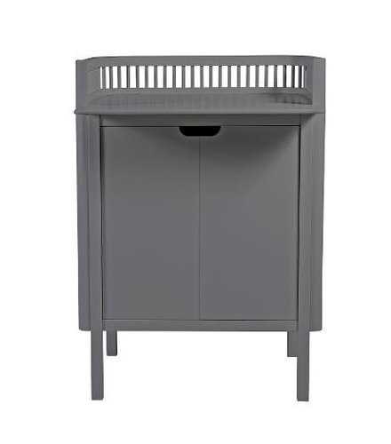Sebra Sebra changing unit, dark grey 79,5x74x90cm