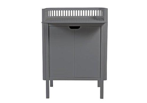 Sebra Sebra changing unit, dark grey 79,5x74x90cm