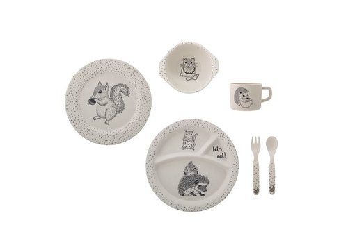 Bloomingville Alex Serving Set, Nature, Bamboo