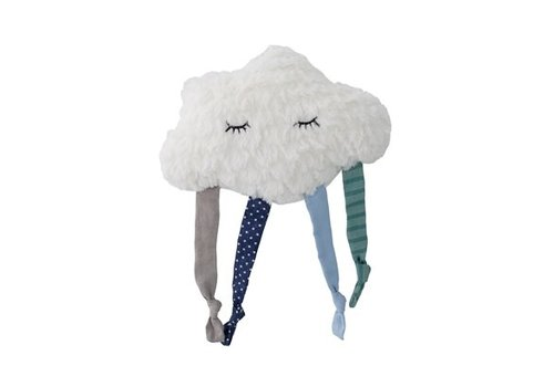 Bloomingville Plush Cloud, Blue, Polyester