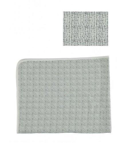Kidscase Lux printed cot blanket, sand