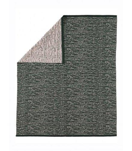 Kidscase Block blanket, dark green