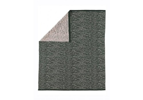 Kidscase Block blanket, dark green