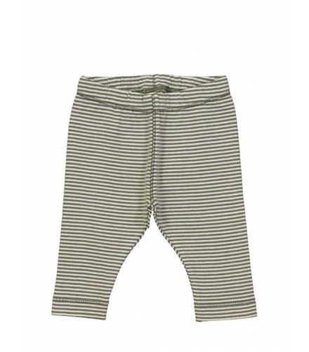 Kidscase Sky organic NB pants, grey/off-white