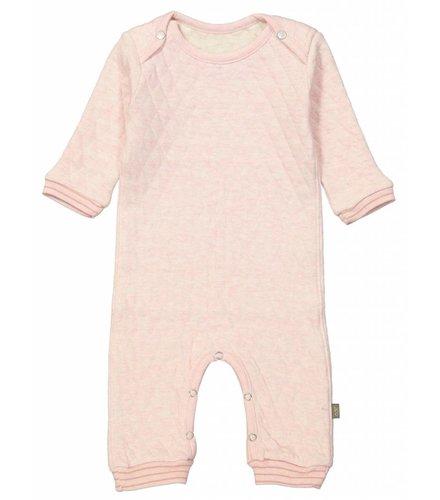 Kidscase Floyd organic NB suit pink