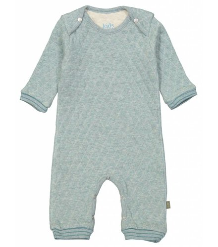 Kidscase Floyd organic NB suit light blue
