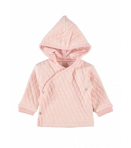 Kidscase Floyd organic NB hoody pink