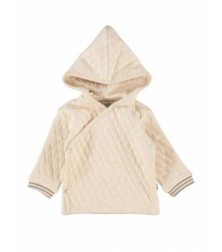 Kidscase Floyd organic NB hoody off-white