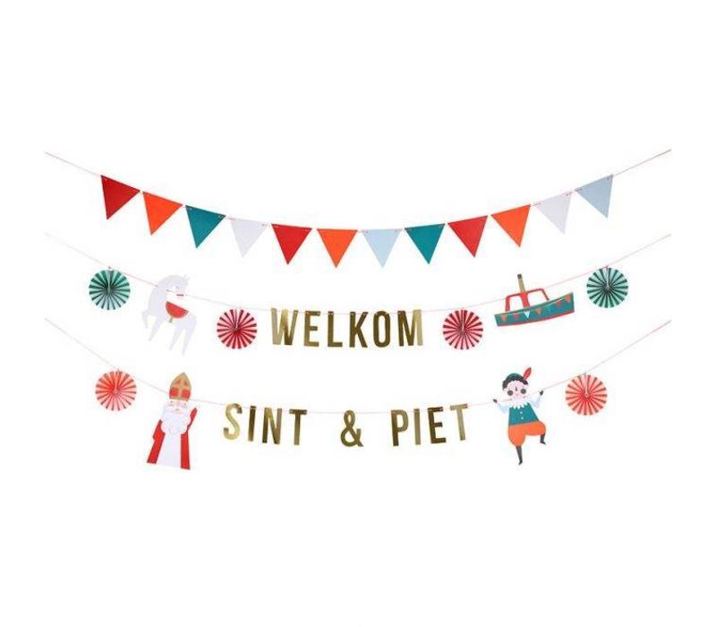 Sint & Piet garland kit