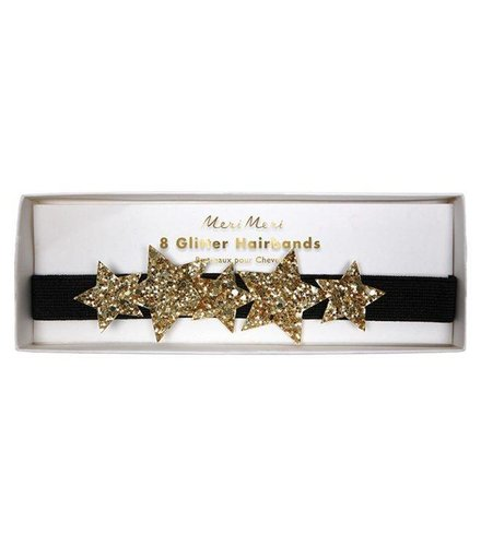 Meri Meri Star glitter hair bands