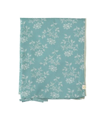 Camomile London Duvet Cover In A Bag Hanako Floral Light Teal
