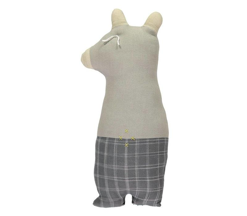 Bear Pebble Ikat Check Pebble Ikat/Smoke Body