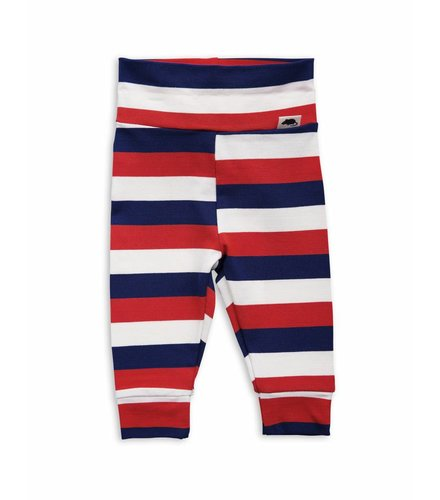 Mini Rodini Blockstripe nb leggings Multi