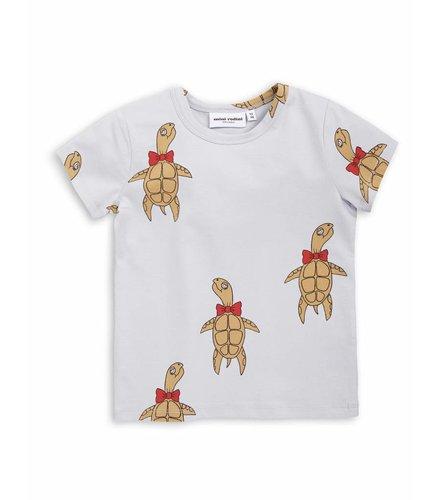 Mini Rodini Turtle ss tee Grey