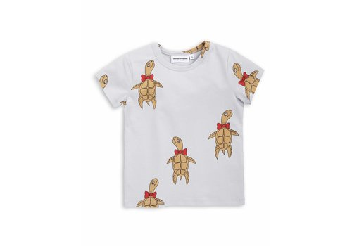 Mini Rodini Turtle ss tee Grey
