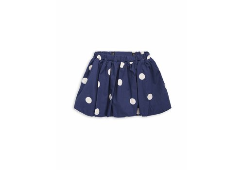 Mini Rodini Dot woven skirt Navy