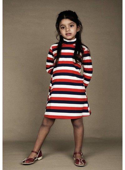 Mini Rodini Blockstripe ls dress Multi