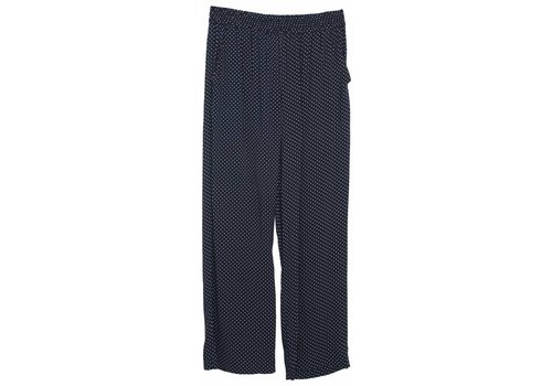 Little Remix LR Rion Dot Pants,  Navy with White Dots