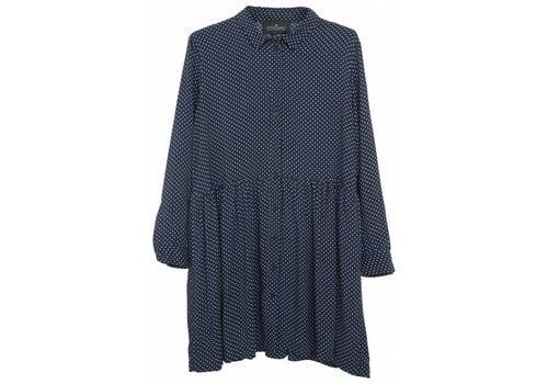 Little Remix LR Rion Dot Shirtdress,  Navy w. White Dots