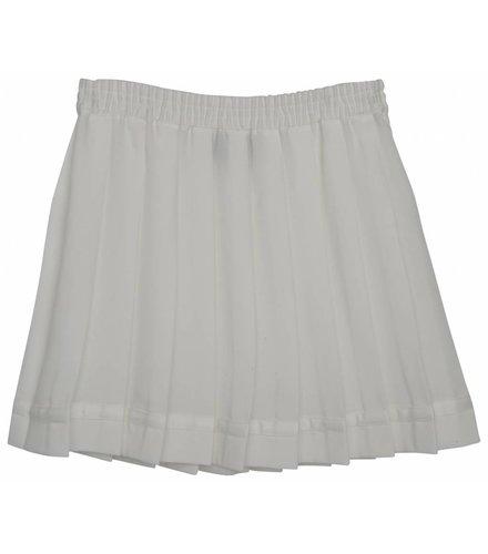 Little Remix LR Luella Pleat Skirt, Cream