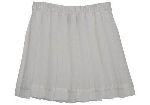 Little Remix LR Luella Pleat Skirt, Cream