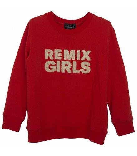 Little Remix LR Remix Sweatshirt, Red