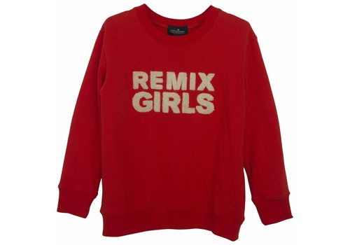 Little Remix LR Remix Sweatshirt, Red