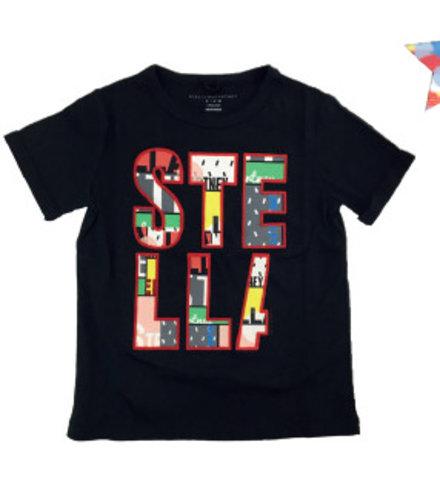 Stella McCartney Kids Lolly T Shirt Black