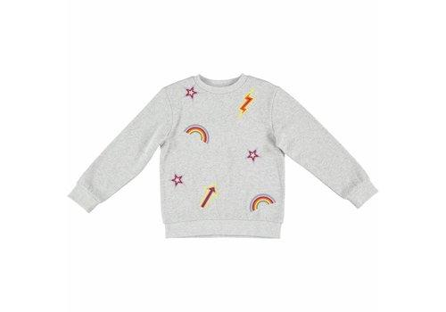 Stella McCartney Kids Betty Sweatshirt Thunder W/Embro