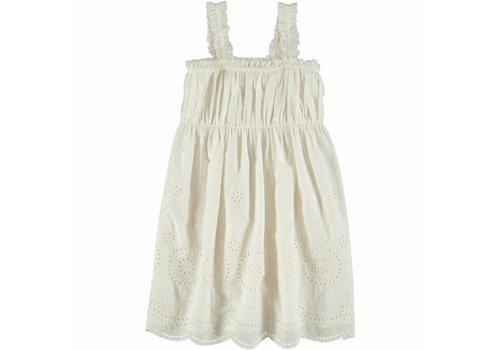 Stella McCartney Kids Anemone Woven Dress White