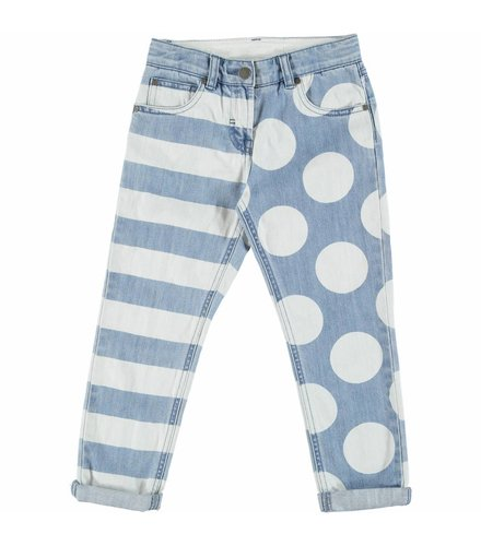 Stella McCartney Kids Lohan Girl Trousers Printed Denim