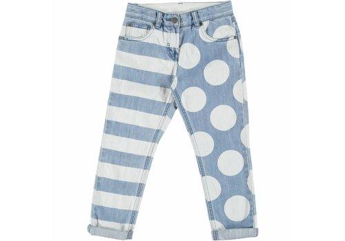 Stella McCartney Kids Lohan Girl Trousers Printed Denim