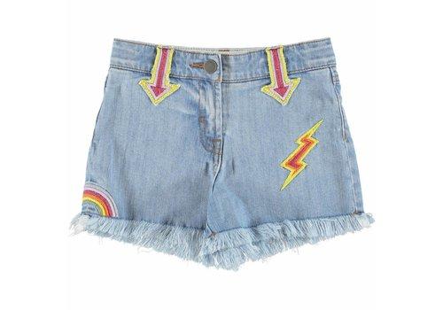 Stella McCartney Kids Marlin Girl Shorts Denim
