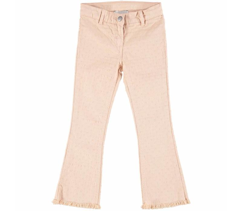 Ashton Girl Trousers Dusky Rose Ankle Lenght