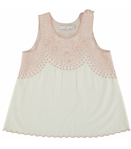 Stella McCartney Kids Adriana Girl Blouse Cloud