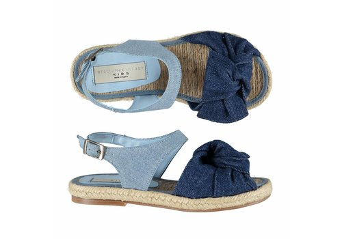 Stella McCartney Kids Rori Sandal Denim with bow