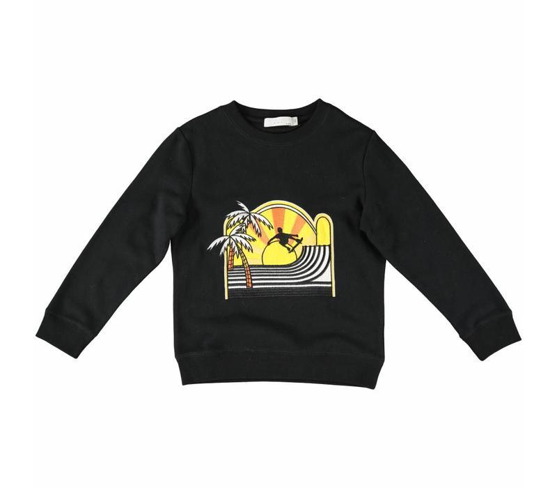 Biz Sweater Black W/Skate Patch