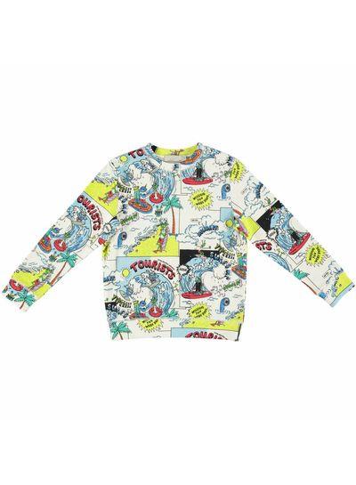Stella McCartney Kids Biz Sweater Tourist Pr