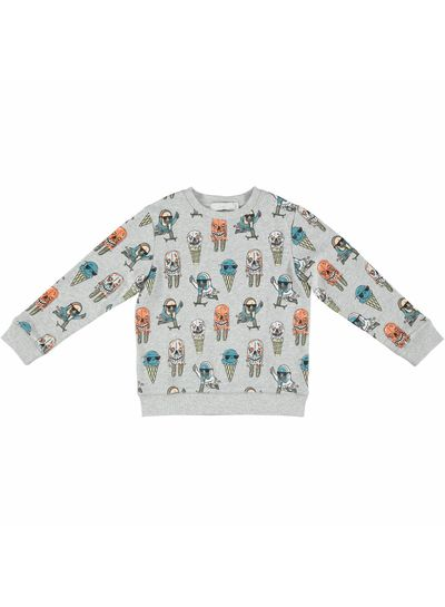 Stella McCartney Kids Biz Sweater  Boy Icecream Pr