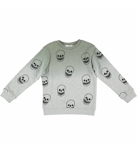 Stella McCartney Kids Biz Sweater Khaki W/Skull P