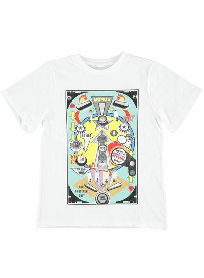 Stella McCartney Kids Arrow T Shirt White Bonus Flipper Pr