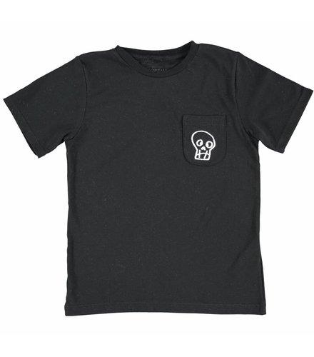 Stella McCartney Kids Basil T Shirt Black Skull
