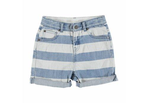 Stella McCartney Kids Blake Boy Shorts Printed Denim