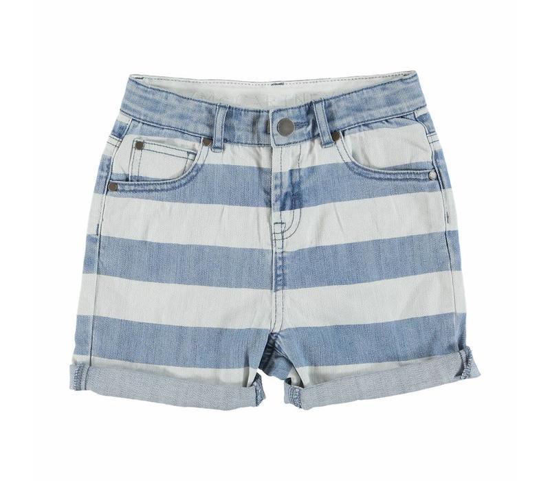Blake Boy Shorts Printed Denim