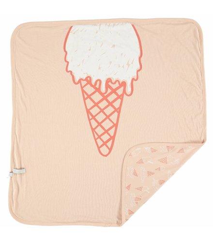 Stella McCartney Kids Toasty Blanket Icecream Pink