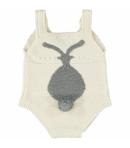 Stella McCartney Kids Bunny Romper Cloud