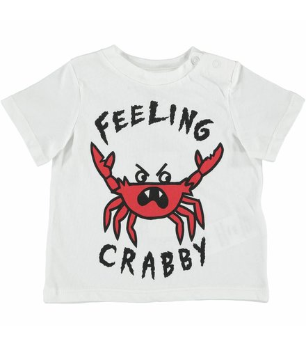 Stella McCartney Kids Chuckle T Shirt  W/Feeling Crabby