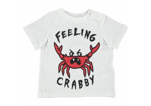 Stella McCartney Kids Chuckle T Shirt  W/Feeling Crabby